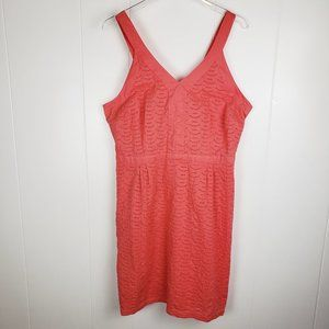 OLD NAVY Coral Sleeveless Eyelet Sun Dress